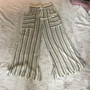Float stripped pants